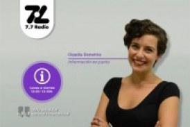Conoce toda la actualidad con Claudia Demetrio en Información en Punto